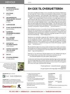 Magasinet Danmark Kina indholdsfortegnelse